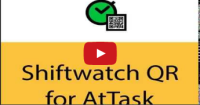 Demonstration of Shiftwatch-QR